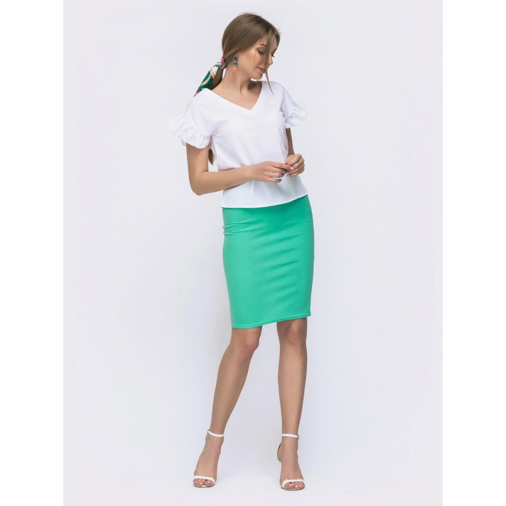 Жіночний комплект із спідниці та блузки Мірінда фото 2