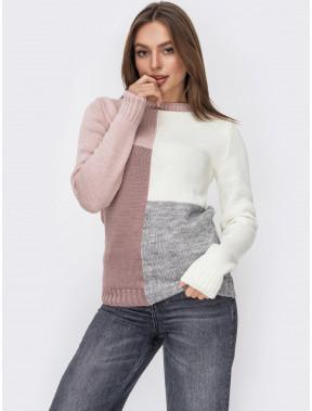 Стильний в'язаний светр Фрея