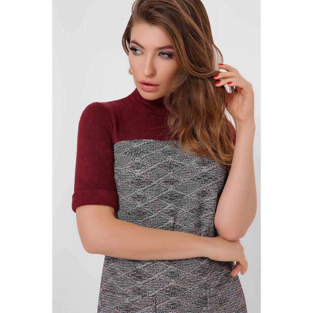 Комбинированное платье Дилора фото 3