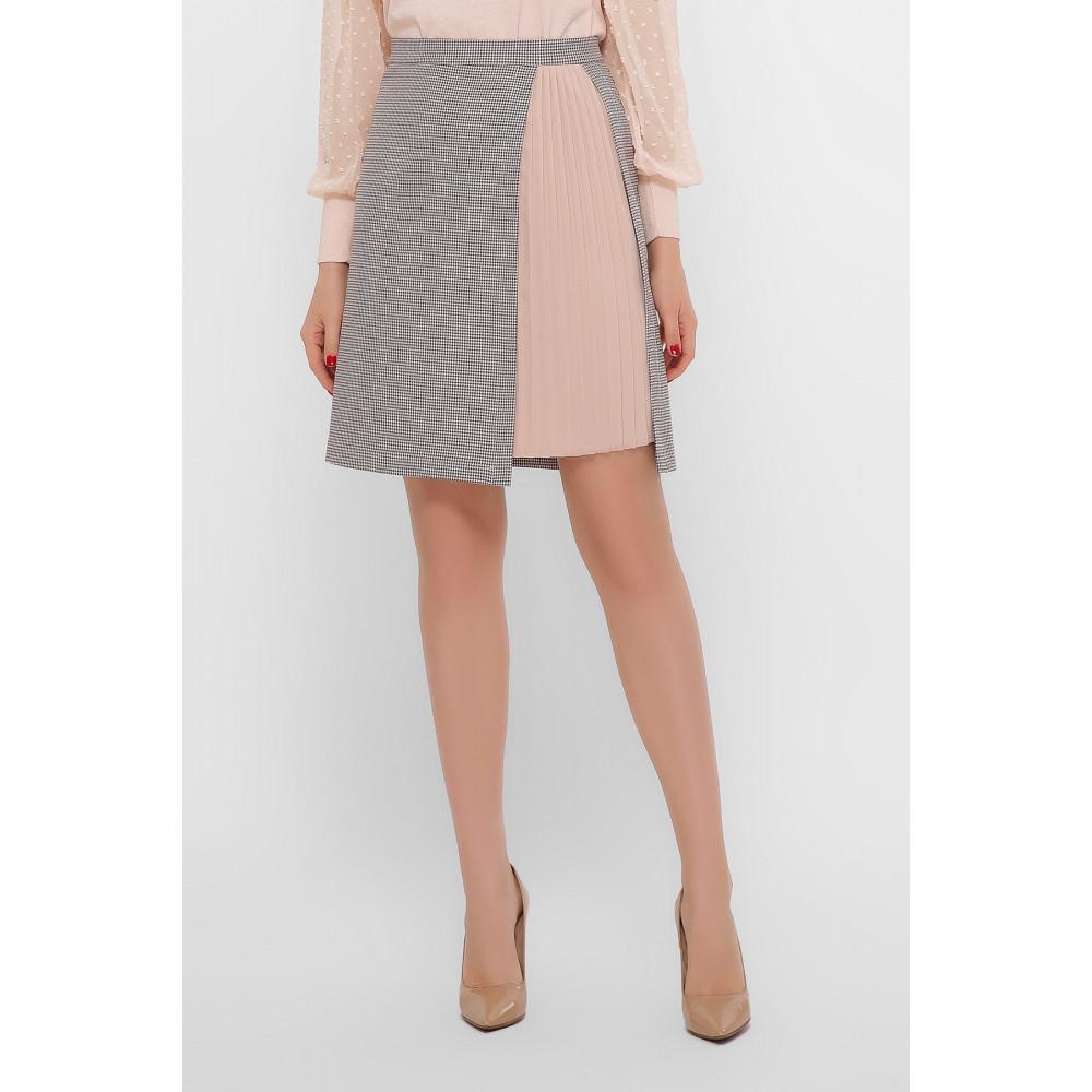 Нежная комбинированная юбка Мия фото 1