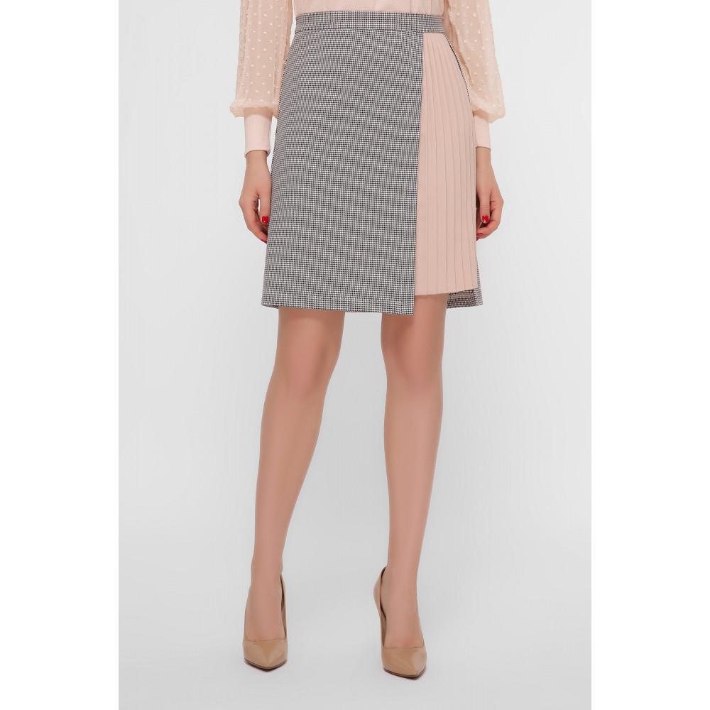 Нежная комбинированная юбка Мия фото 2