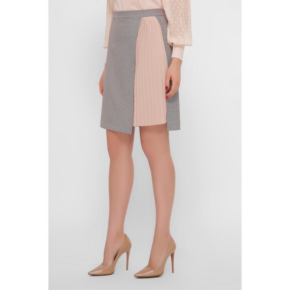 Нежная комбинированная юбка Мия фото 3