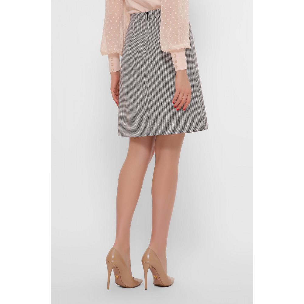 Нежная комбинированная юбка Мия фото 4