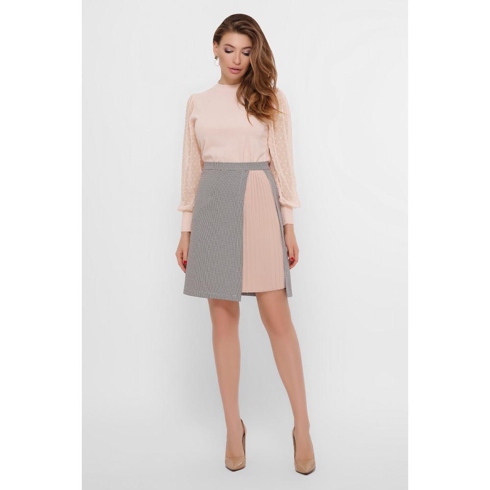 Нежная комбинированная юбка Мия фото 5