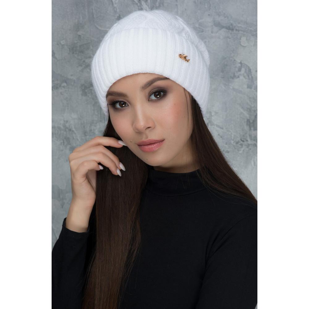 Білосніжна шапка Жанет фото 1