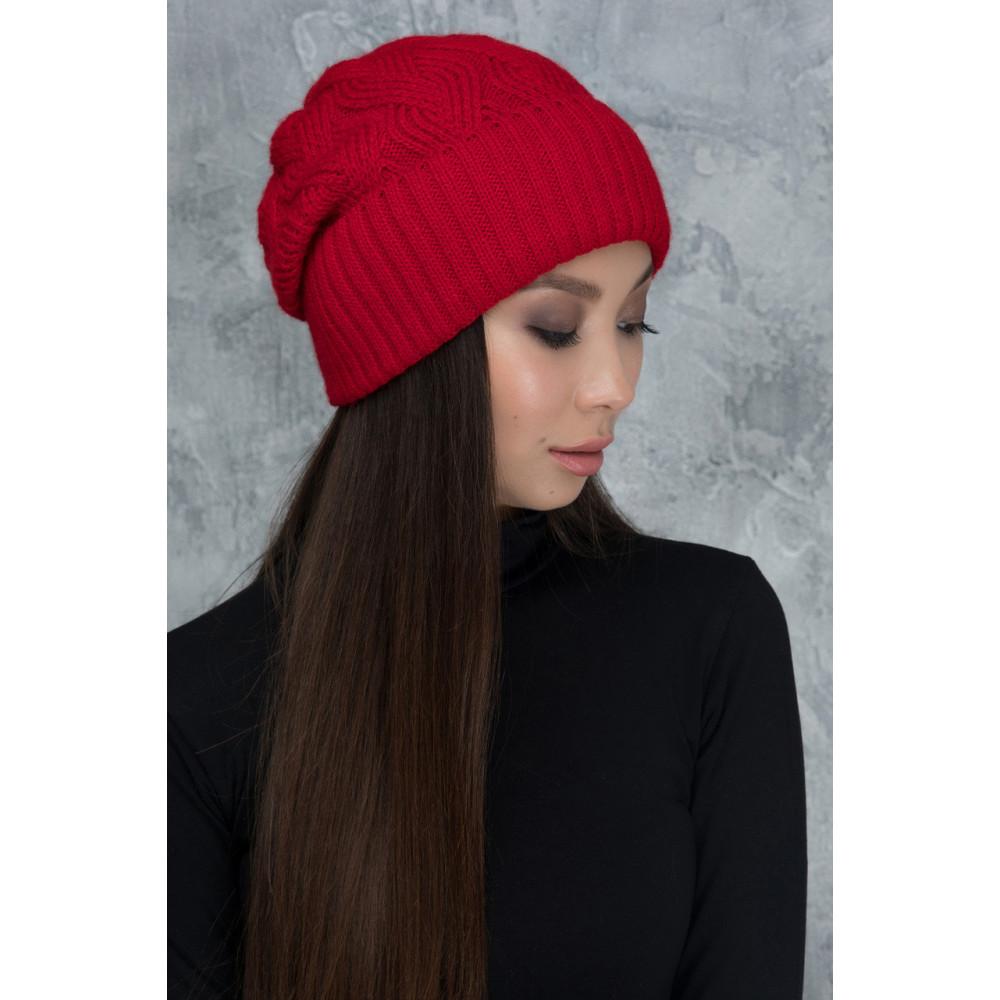 Алая шапка Жанет фото 1