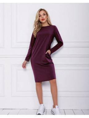 Модна фіолетова сукня Анета