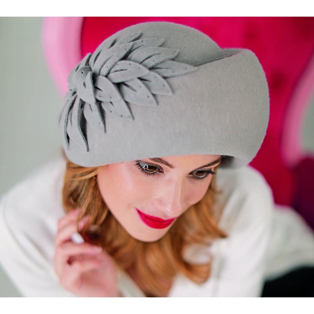Красивая объемная шляпа 338-1 фото 1