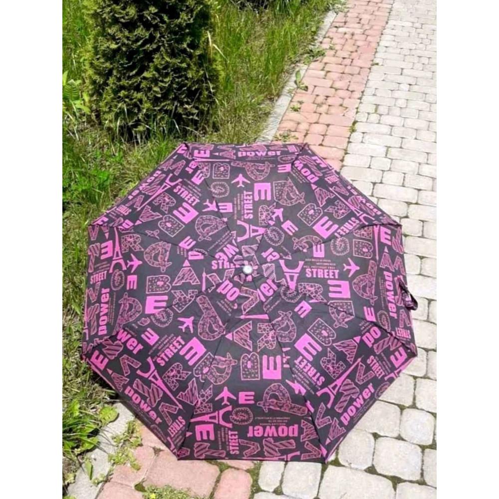 Интересный зонт с надписями фото 1