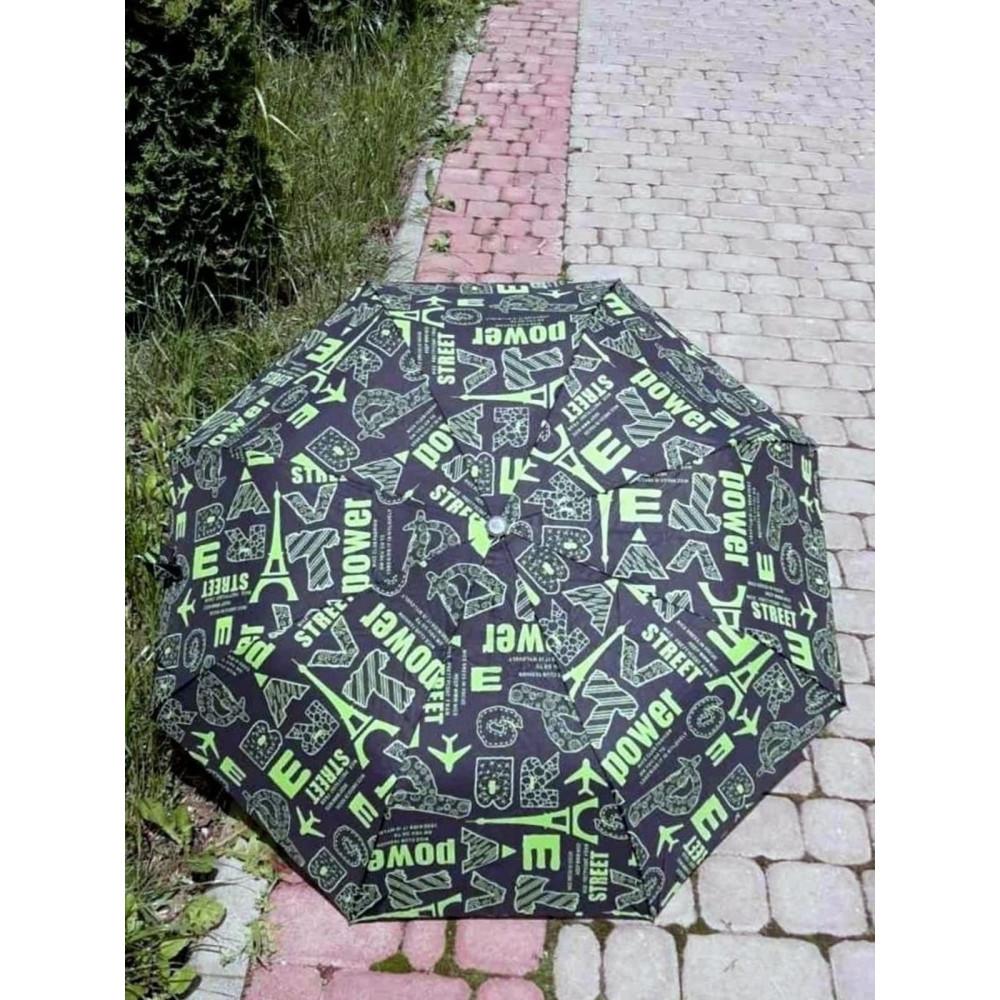 Легкий женский зонт с рисунком фото 1