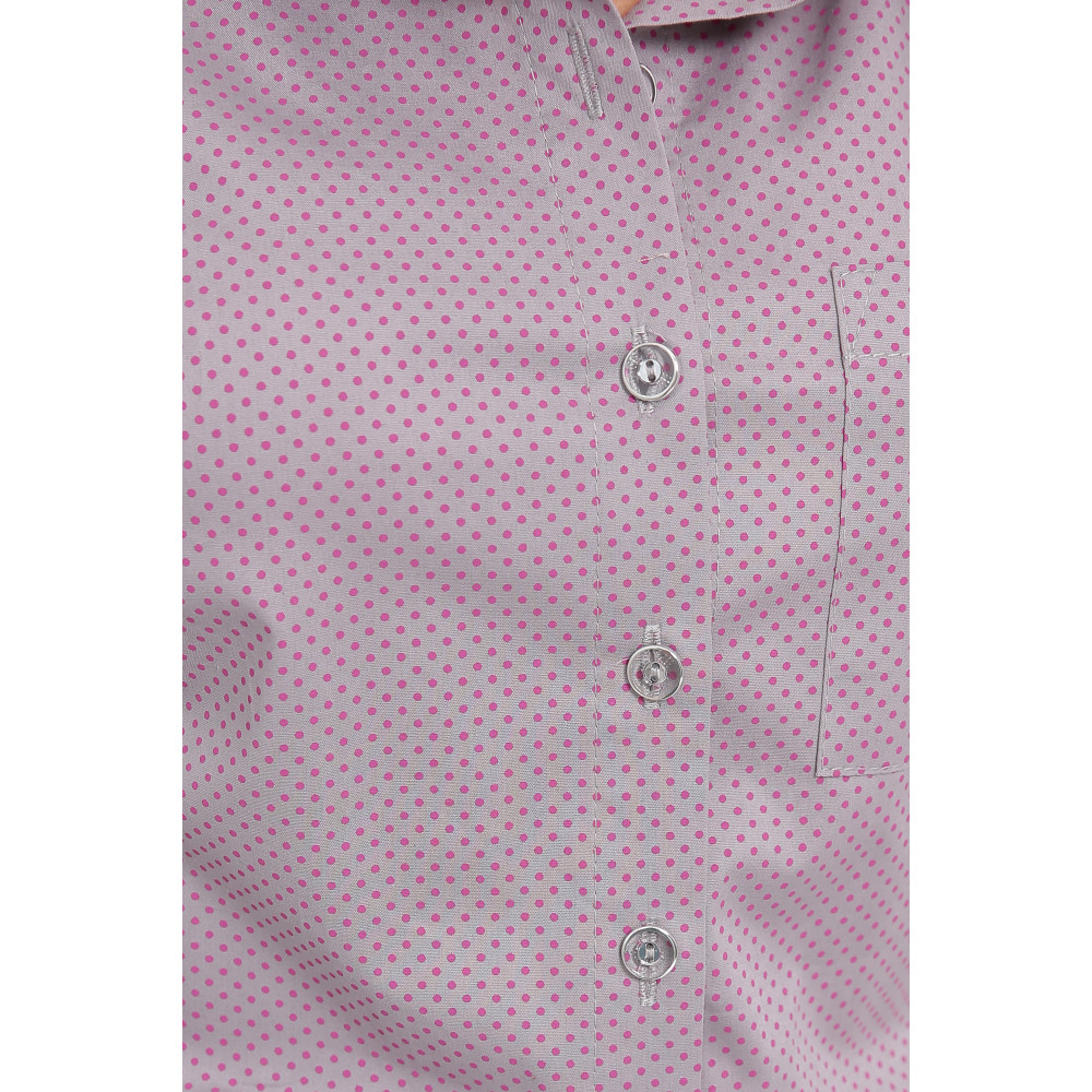 Интересная рубашка в горошек Дакота фото 2