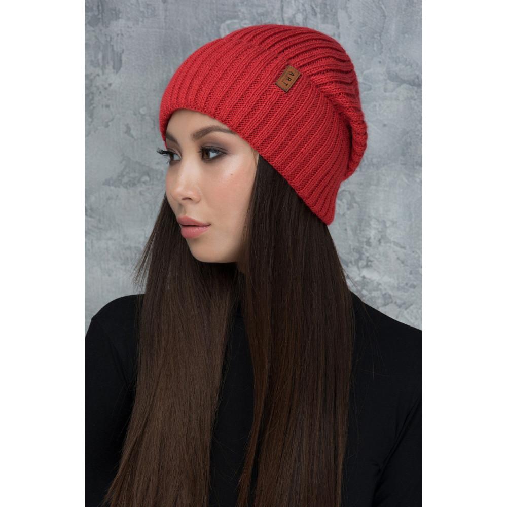 Красивая шапка на флисе Шейла S фото 2