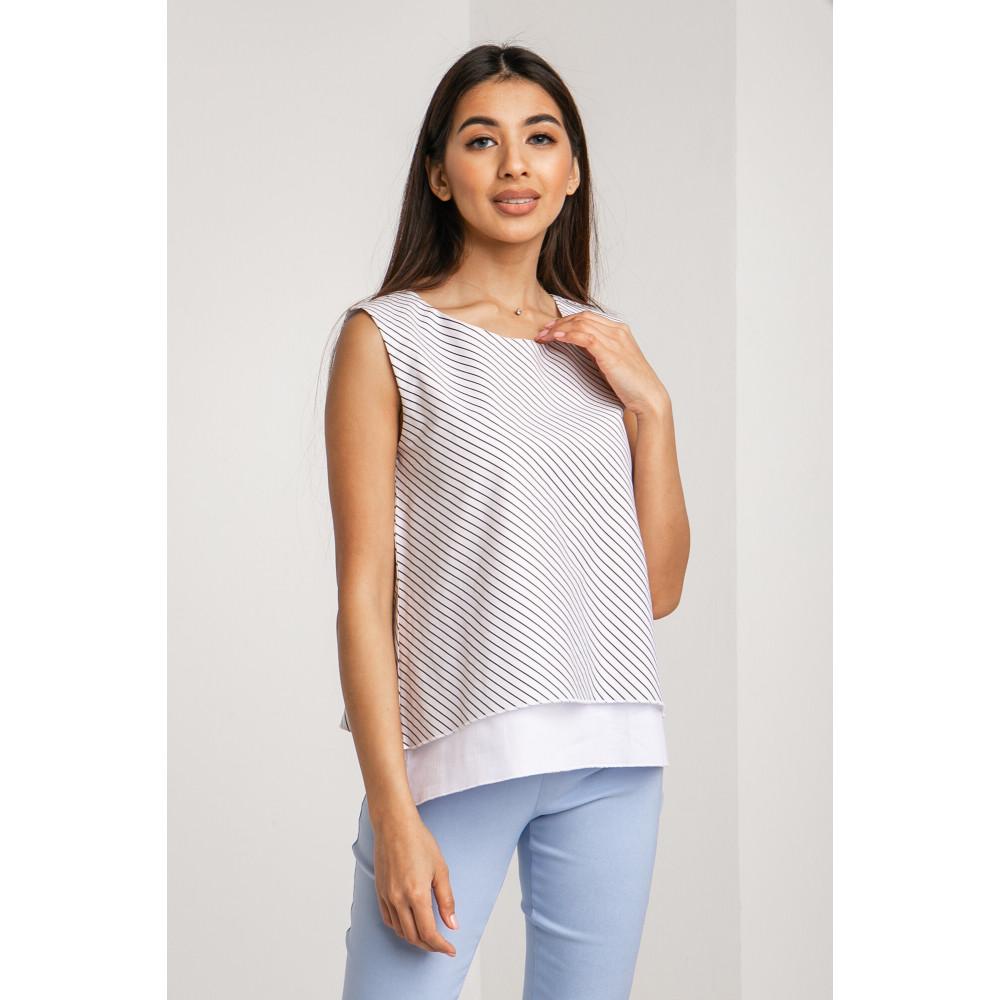 Мила двошарова блуза Поліна фото 1