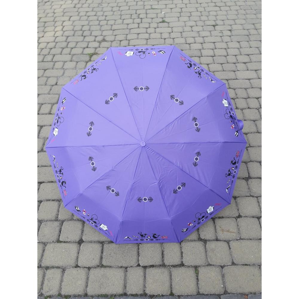 Надежный фиолетовый зонт-автомат фото 1