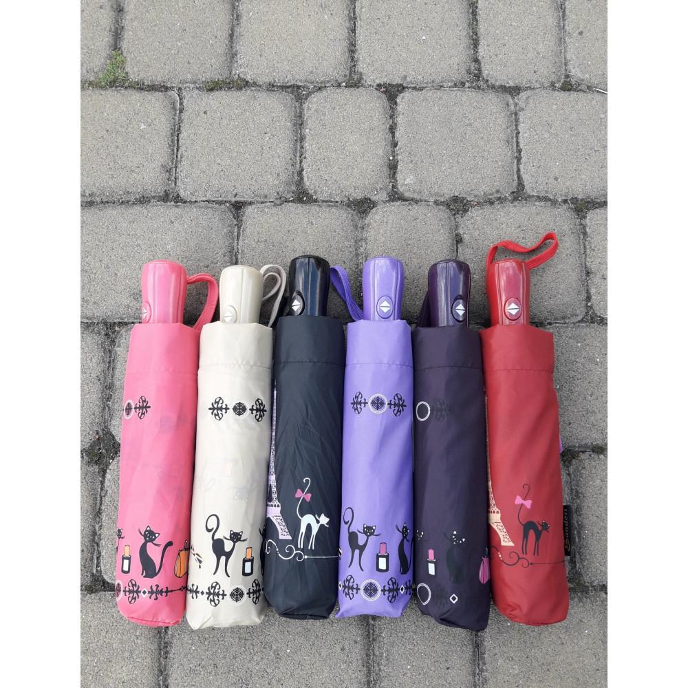 Надежный фиолетовый зонт-автомат фото 3