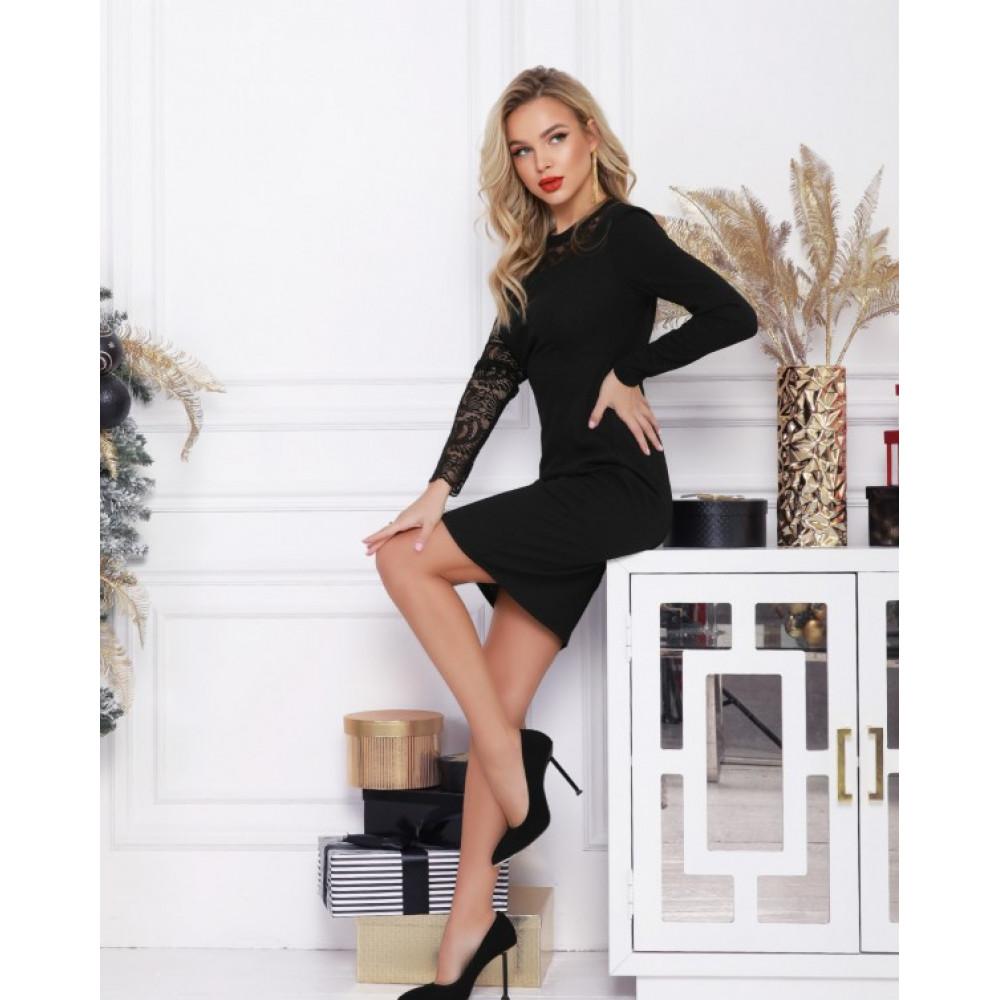 Асимметричное коктейльное платье Адина фото 1