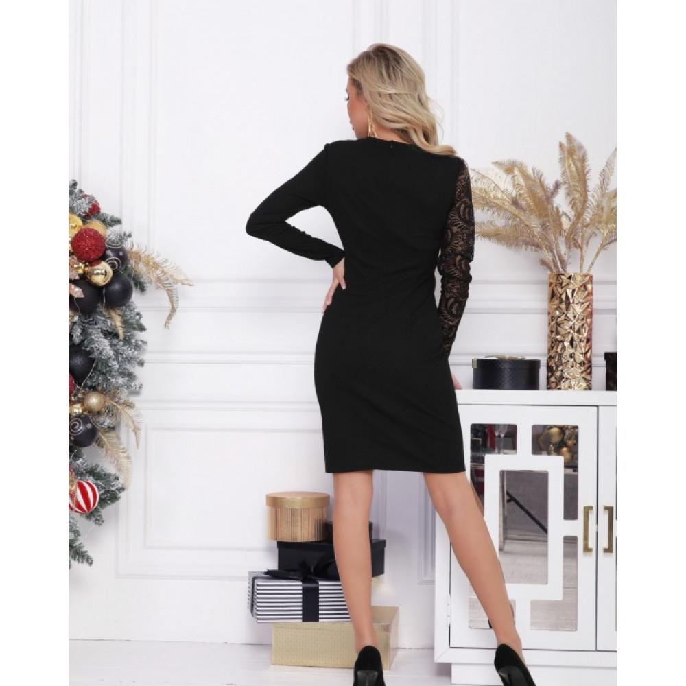 Асимметричное коктейльное платье Адина фото 3