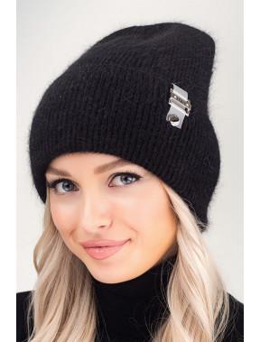 Чорна зимова шапка Бест