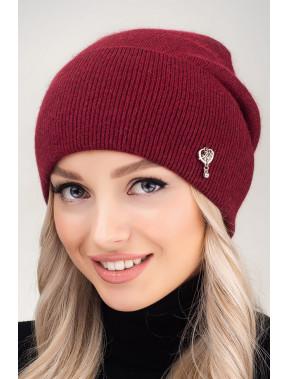 Жіночна шапка з манжетом Кім