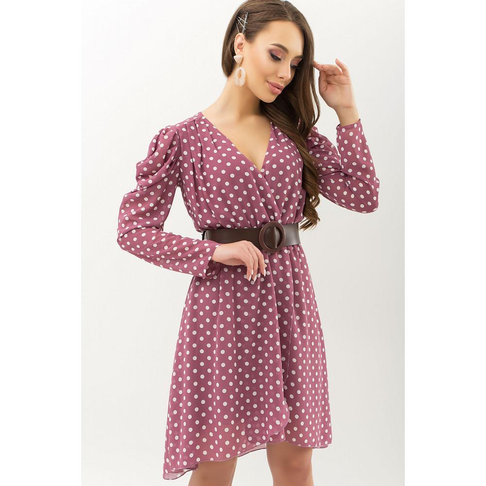 Кокетливое платье из шифона Лайса фото 1