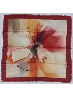 Бордовый женский платок Bona