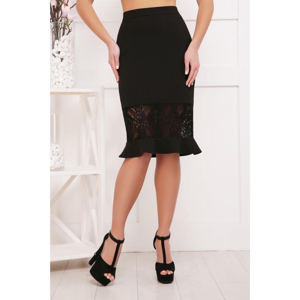 Изящная юбка с кружевом фото 1