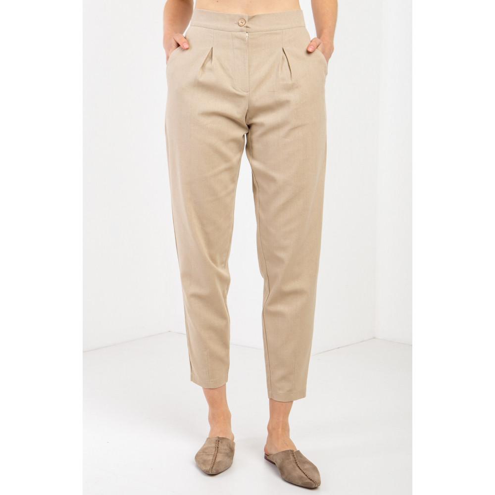 Льняные модные брюки ANAT фото 1