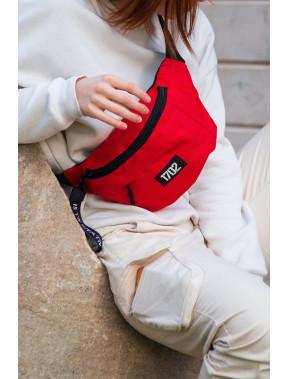 Яркая квадратная сумка на пояс Without