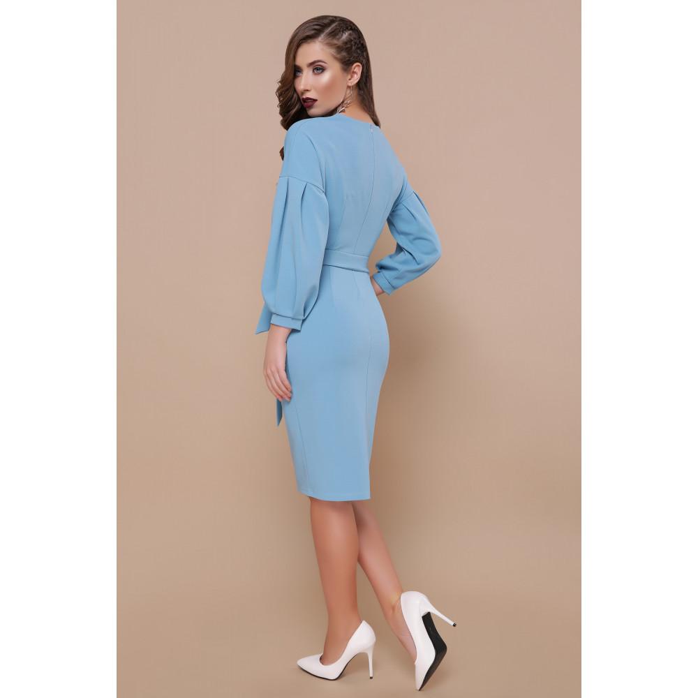Красивое голубое платье Одри фото 3