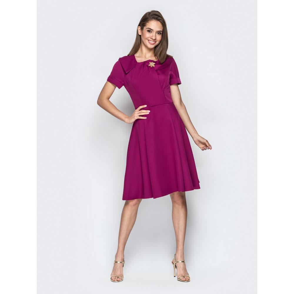 Восхитительное платье с пышной юбкой фото 1
