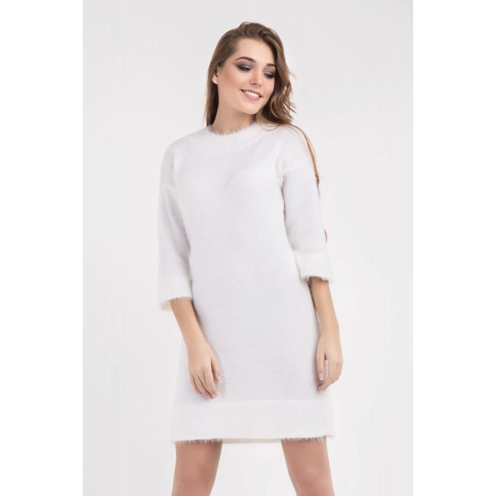 Белоснежное нежное платье фото 1