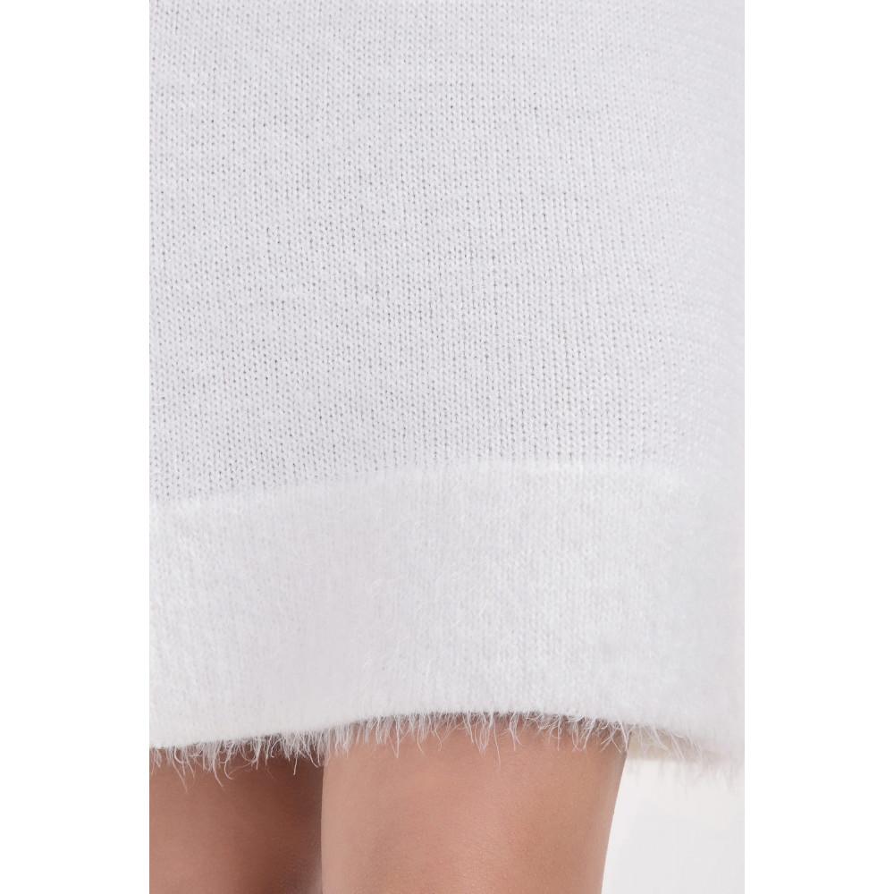 Белоснежное нежное платье фото 2
