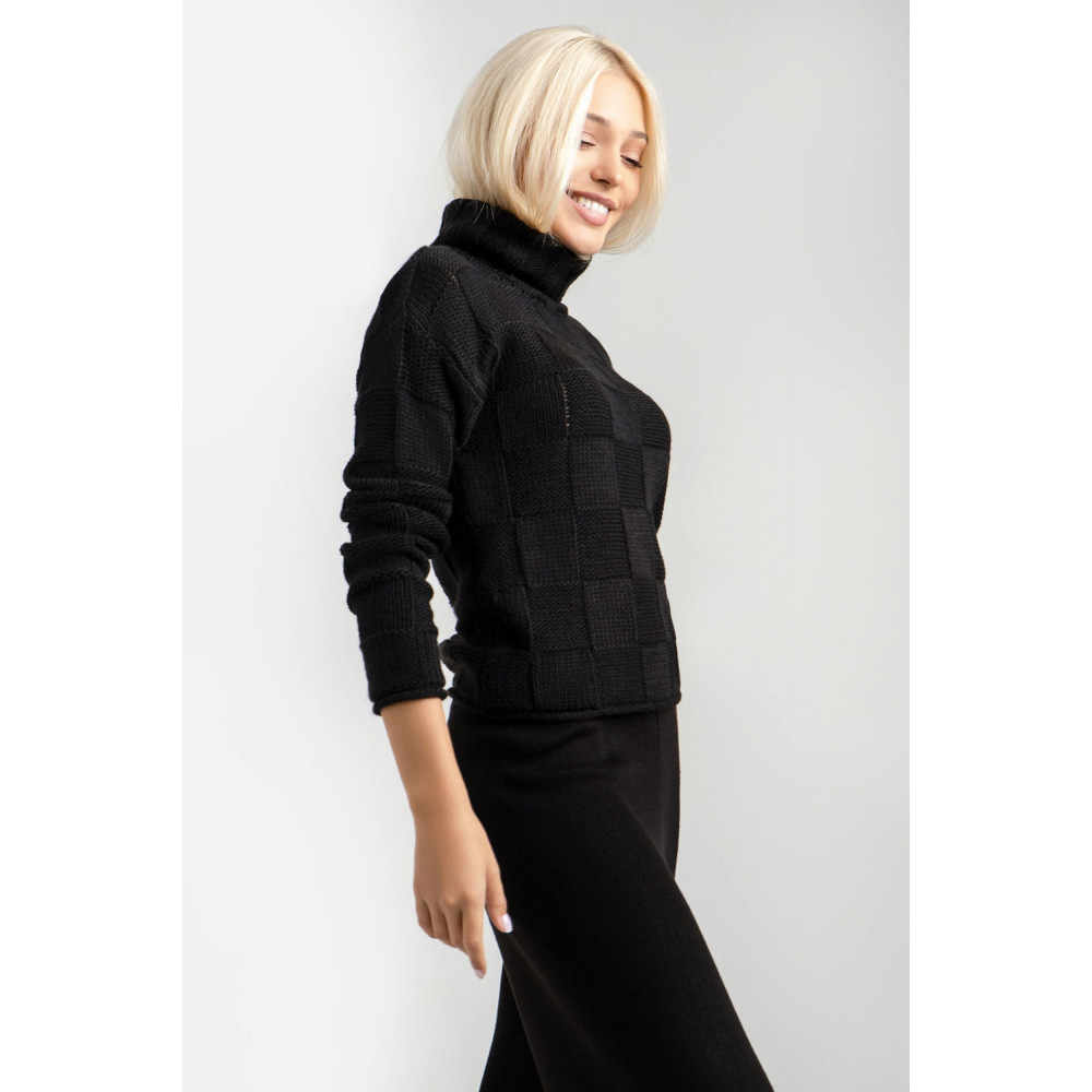 Женский вязаный свитер фото 3