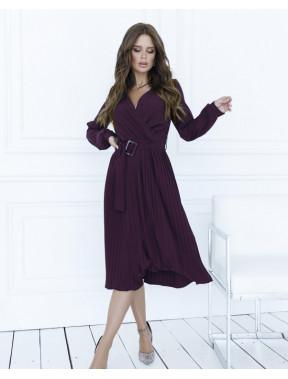 Фиолетовое красивое платье Мирей