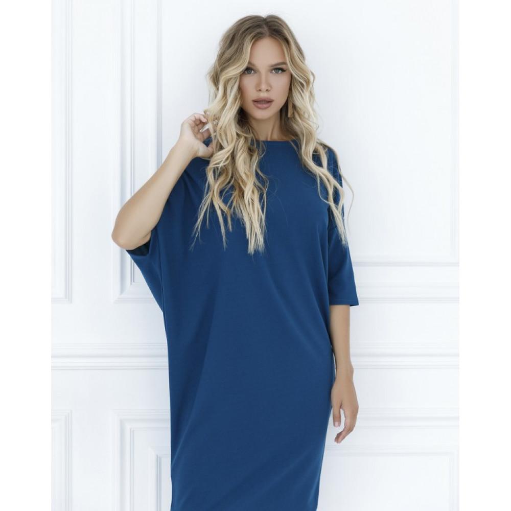 Бирюзовое платье-туника Клео фото 2