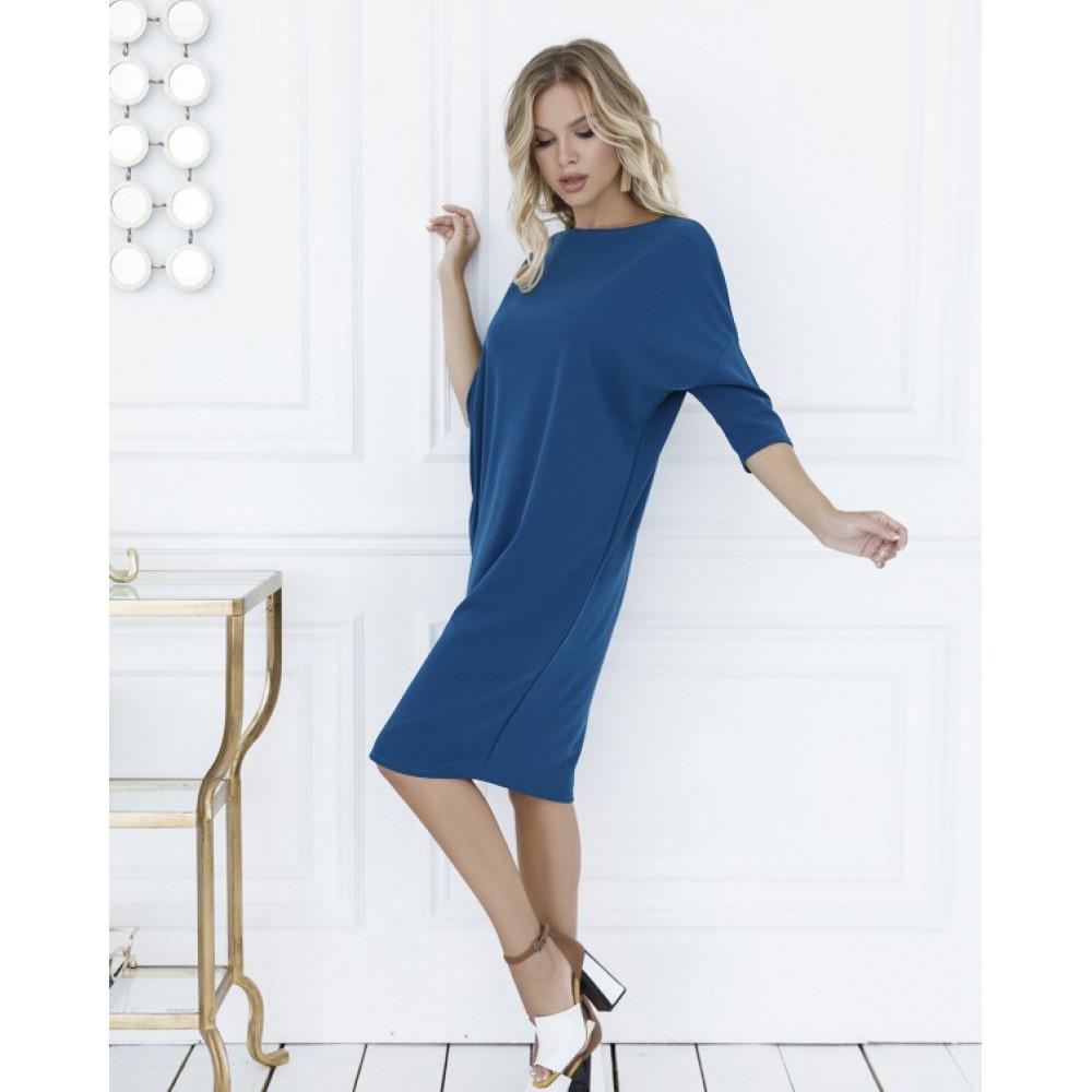 Бирюзовое платье-туника Клео фото 1