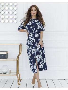 Роскошное платье в цветы Анабелла