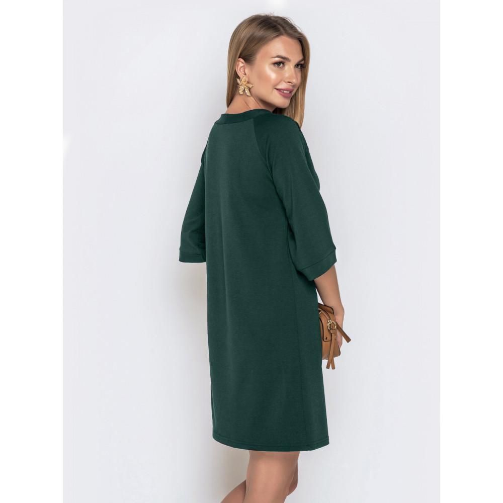 Зеленое платье А-силуэта фото 2