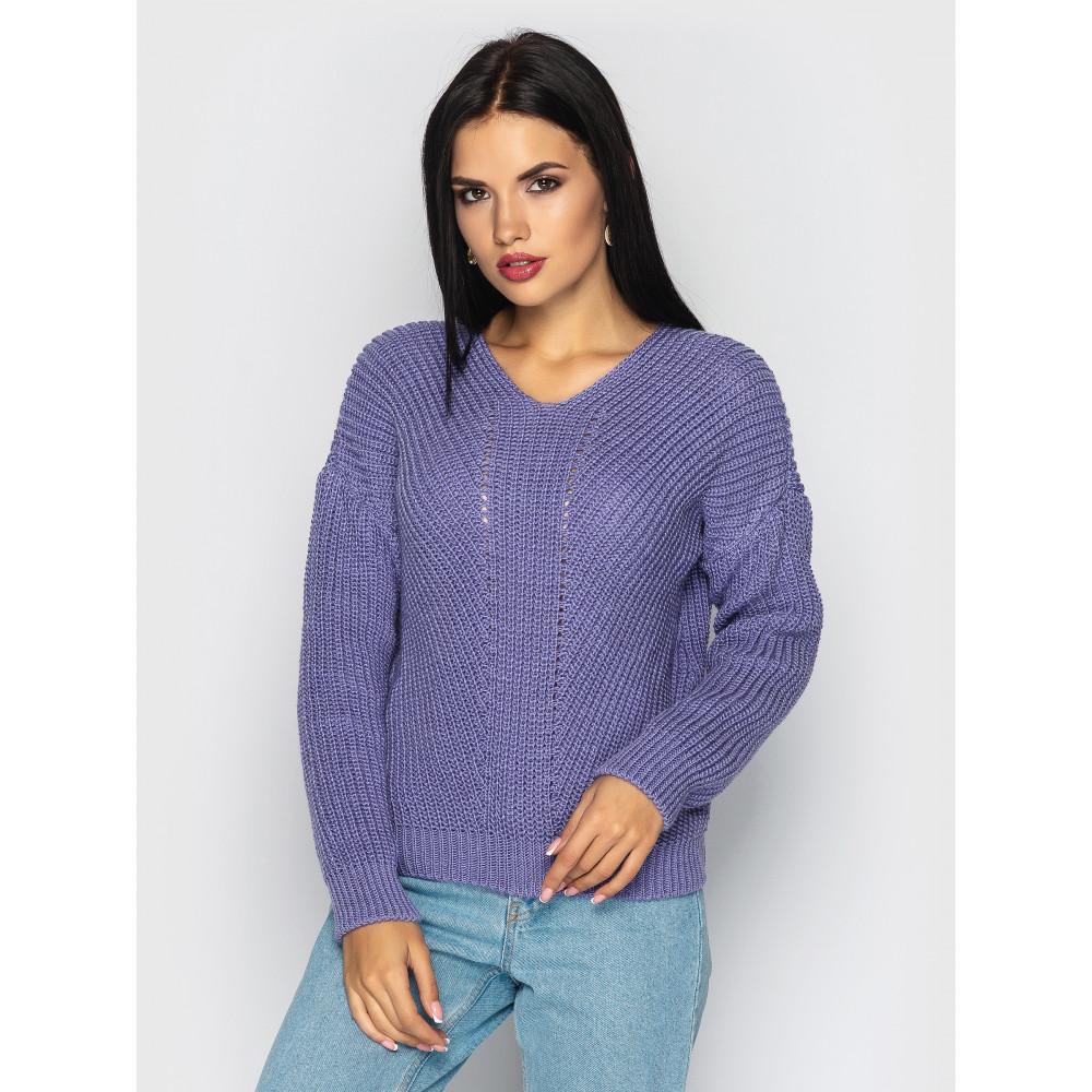 Лавандовый свитер Paris фото 1