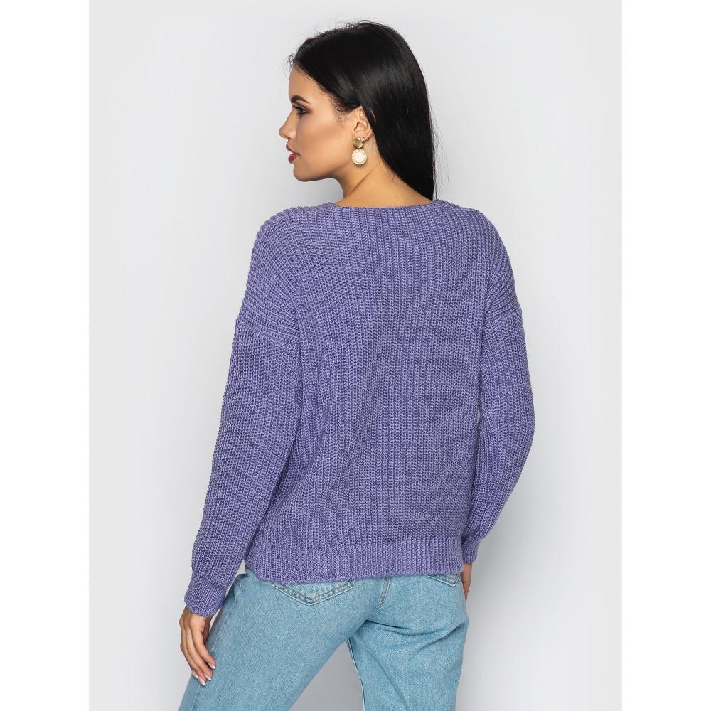 Лавандовый свитер Paris фото 2